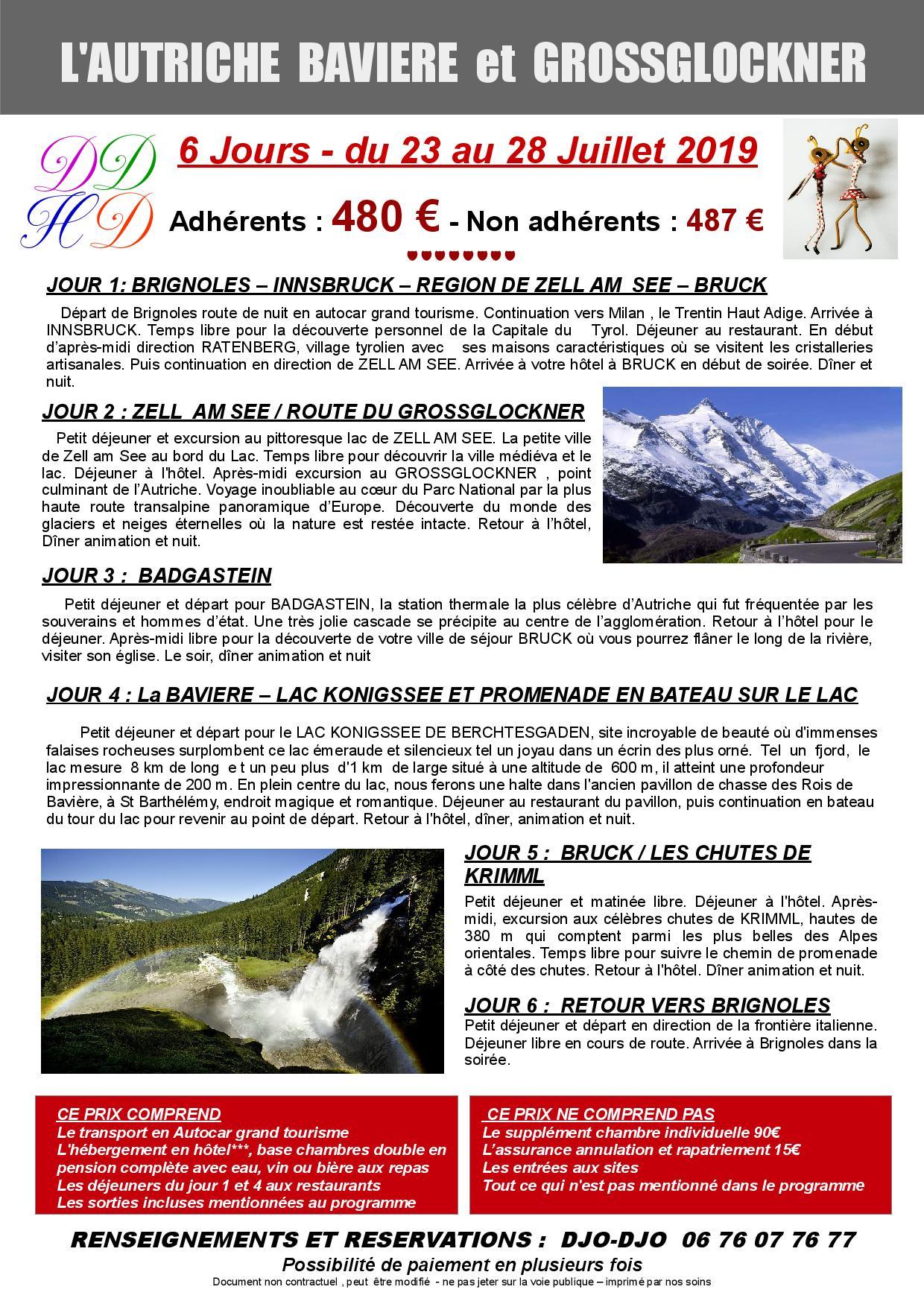 Autriche juillet 2019