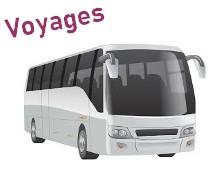 Bouton voyages bus