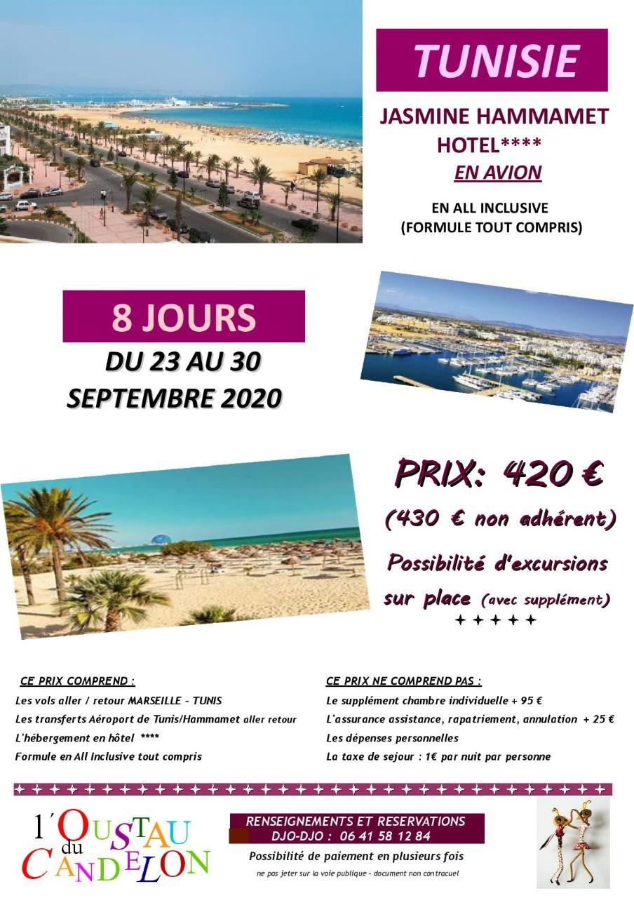 Tunisie 002 nouvelles dates